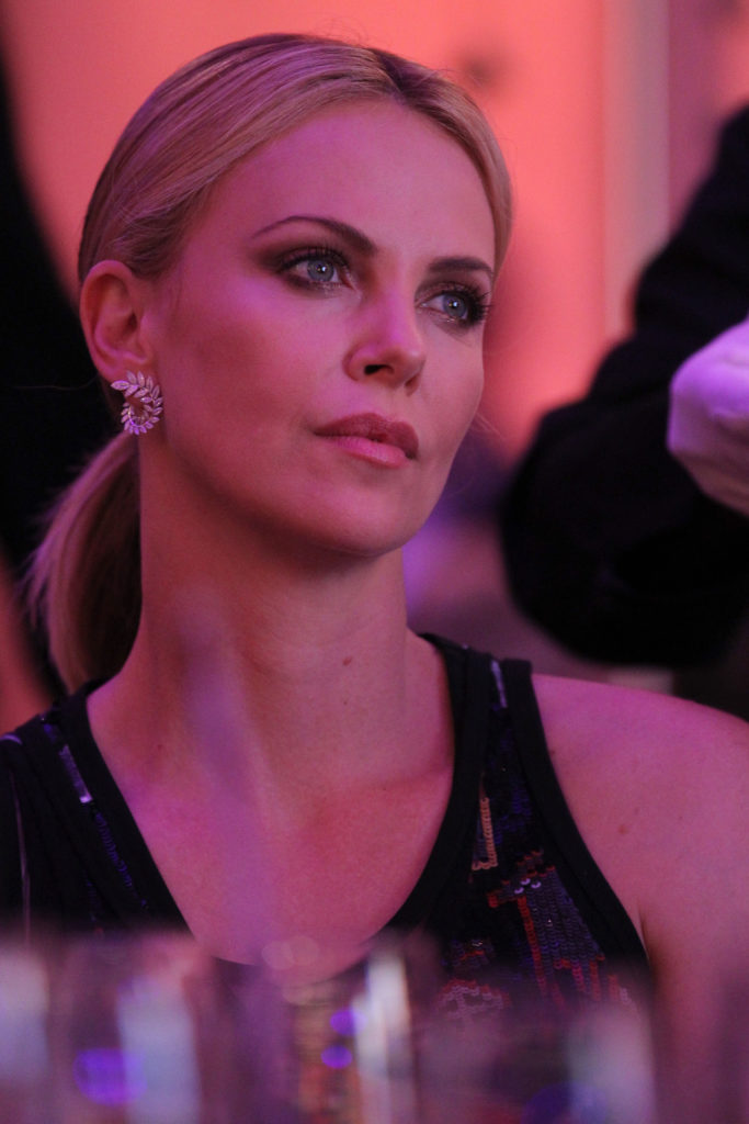 Charlize Theron at the AIDS Solidarity Gala at Vienna's Hofburg Palace on May 16, 2015. (Photo by Getty Images)