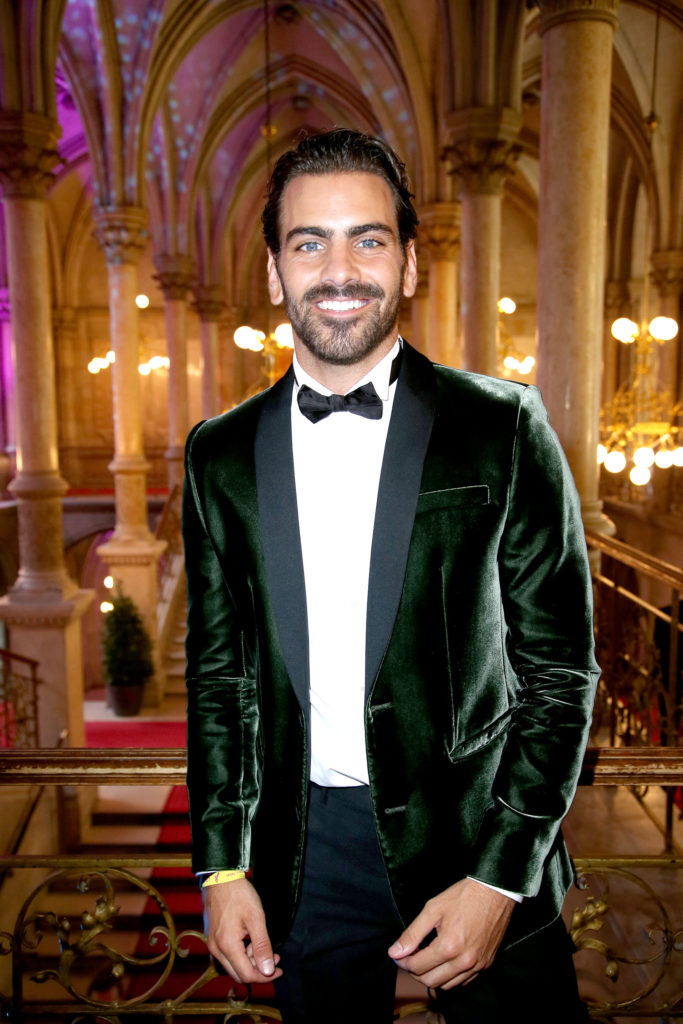 Nyle DiMarco at the LIFE+ Solidarity Gala 2017 at Vienna City Hall. (Photo by Getty Images)